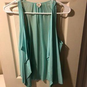 Aritzia Wilfred 100% silk blouse